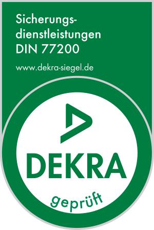 DEKRA Siegel DIN 77200 ASG SECURA GmbH Frankfurt