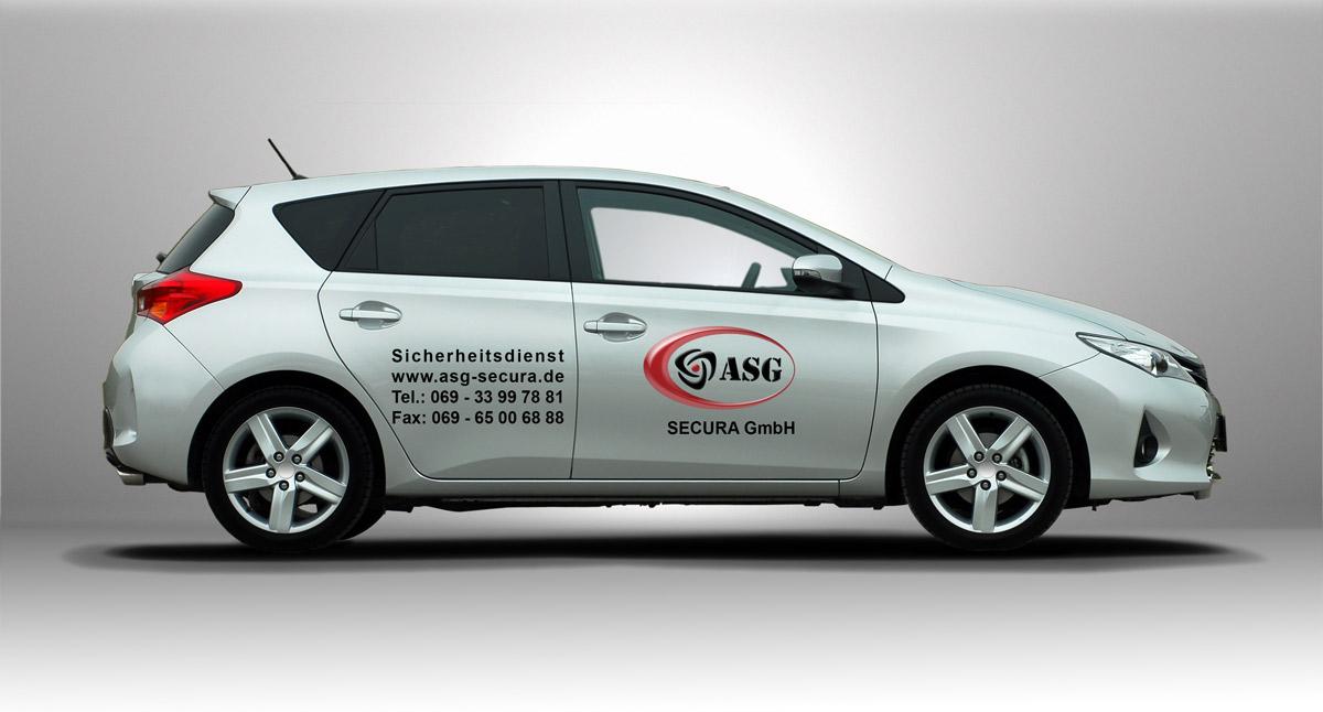Revierkontrolle und Revierdienste - ein Service der ASG Secura GmbH Frankfurt